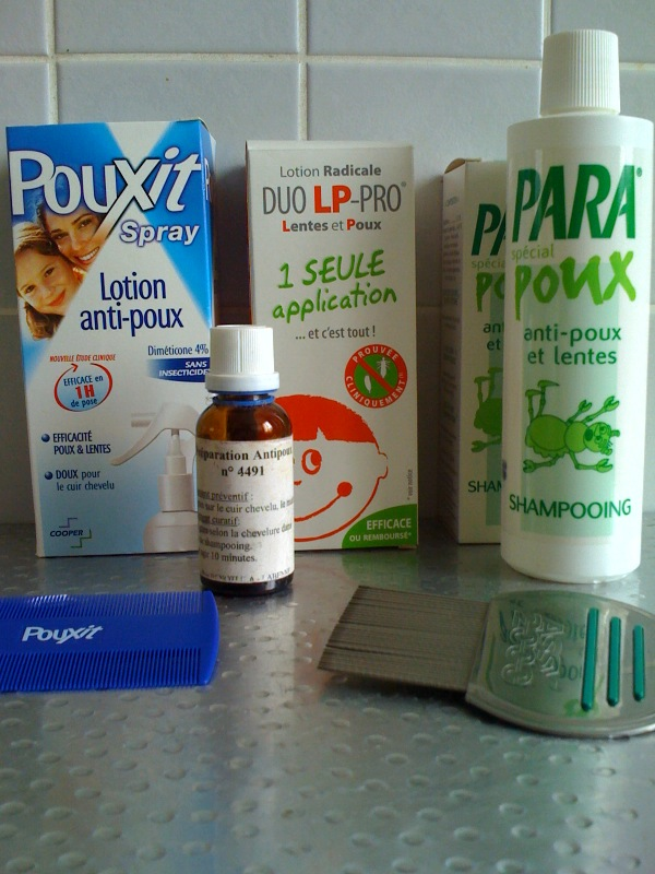Anti poux trucs de maman for Anti poux maison