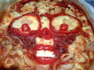 la pizza des enfants