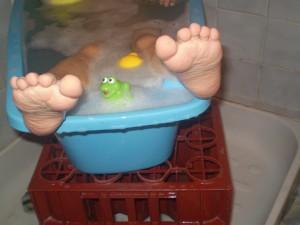 matériel du bain