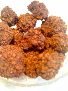 truffes praliné Benco